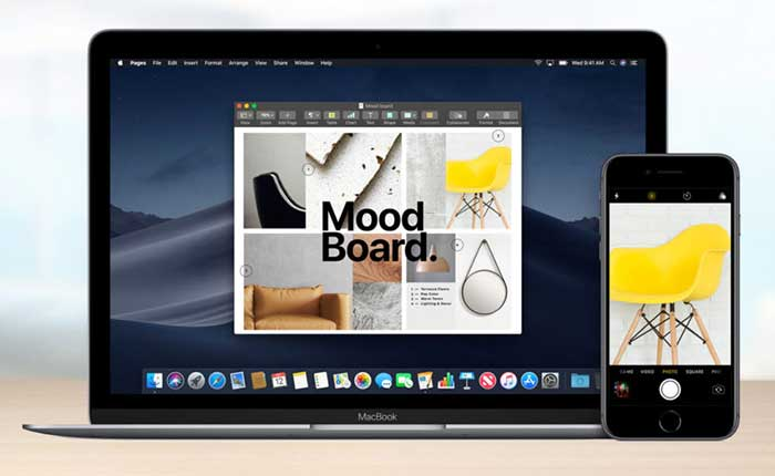 Review macOS Terbaru - Mojave Camera Continuity